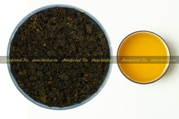 cách pha trà ô long rang
