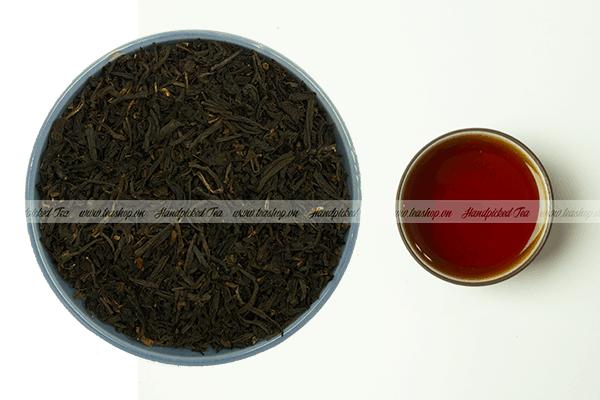 cách pha trà đen rang handpicked tea