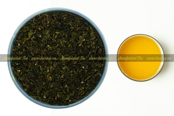 công thức pha trà ô long xanh