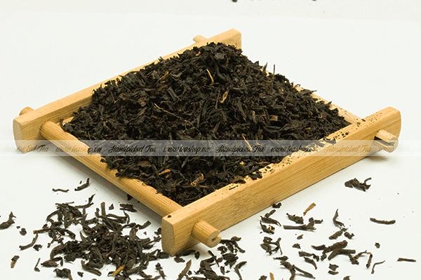 trà đen rang là gì