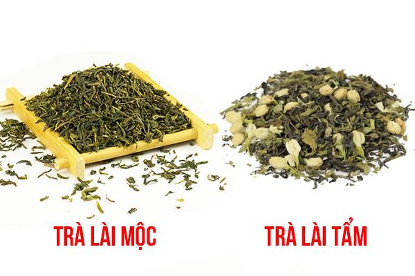 Phân biệt trà tẩm và trà mộc